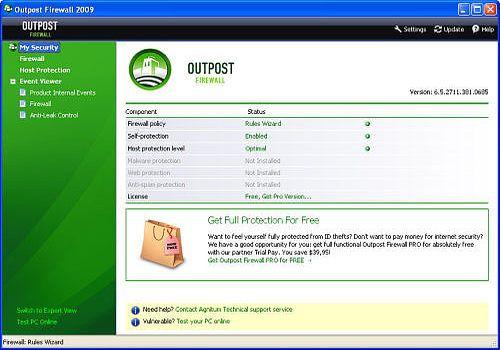 T 233 L 233 Charger Agnitum Outpost Firewall Free Pour Windows