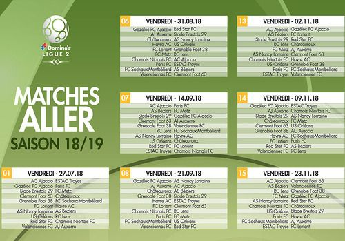 Champions League 2019 Calendrier.Download Calendrier Ligue 2 2018 2019 2018 2019 For