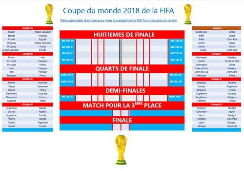 Calendrier Coupe Du Monde A Remplir.Telecharger Tableau De Pronostics Pour La Coupe Du Monde