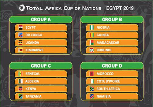 CAN 2019 - Groupes PDF
