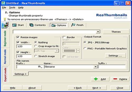 ReaThumbnails - Thumbnail Gallery Creator