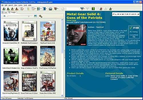 Collectorz.com Game Collector