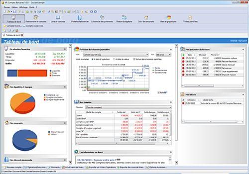 MS Comptes Bancaires