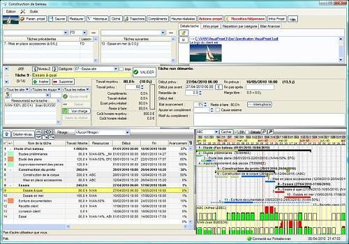 Application VisualProjet