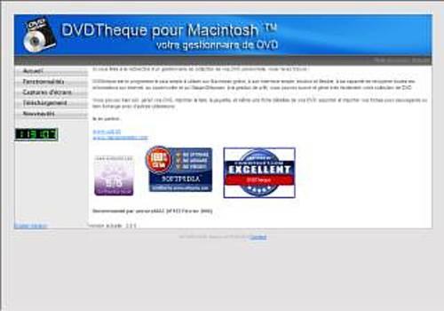 DVDTheque pour Mac