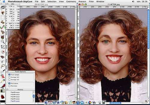 PhotoRetouch DigiCam für Mac