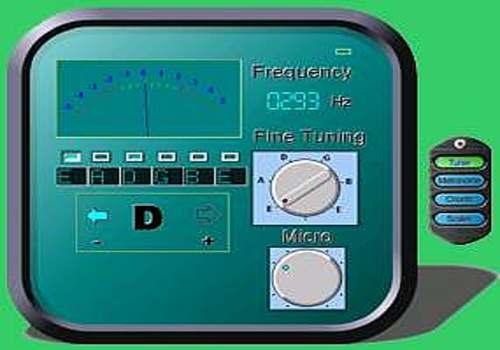 ACCORDER GUITARE AVEC PC MICROPHONE
