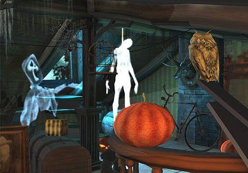 Halloween in the Attic 3D Screensaver