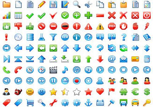 16x16 Free Application Icons