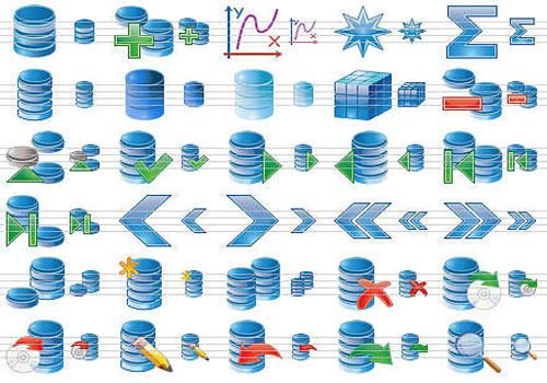Download Database Icon Set for Windows | Demo
