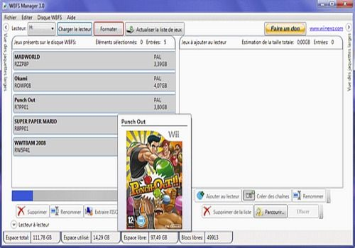 Download WBFS Manager 4 0 for Windows | Freeware