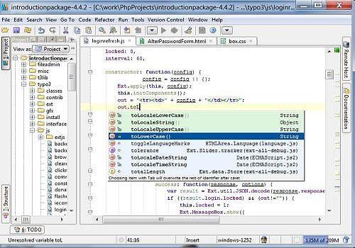 JavaScript IDE WebStorm