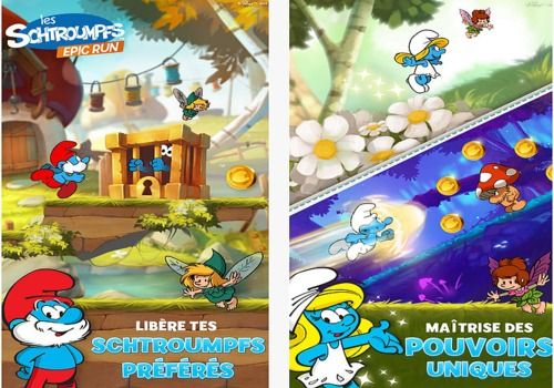 Les Schtroumpfs Epic Run Android