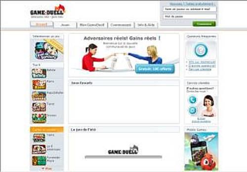 Jeux gratuits en ligne - GameDuell