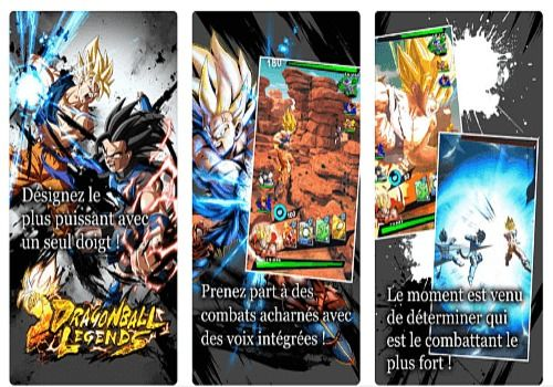 Dragon Ball Legends iOS