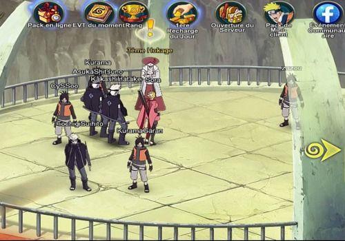 Télécharger Naruto Online   Jeu en Ligne