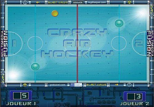 CRAZY AIR HOCKEY