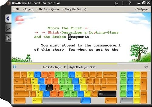 Download Portable Rapid Typing Tutor for Windows | Freeware