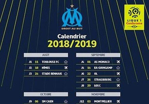 Calendrier Ea.Download Calendrier Om Ligue 1 2018 2019 18 19 For Windows