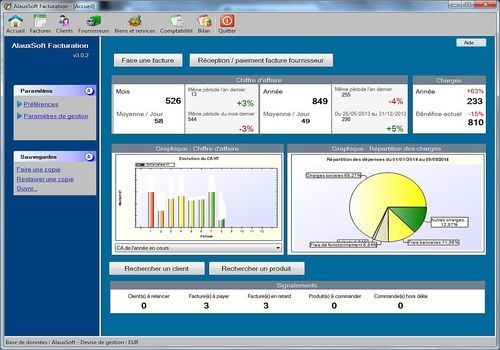 AlauxSoft Facturation v5.2.1