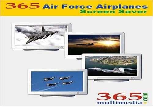 365 Air Force Airplanes Screen Saver