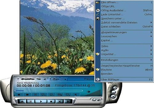 Download BS Player 2 66 1075 for Windows   Freeware