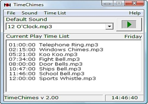 Download TimeChimes Automated Audio Player for Windows