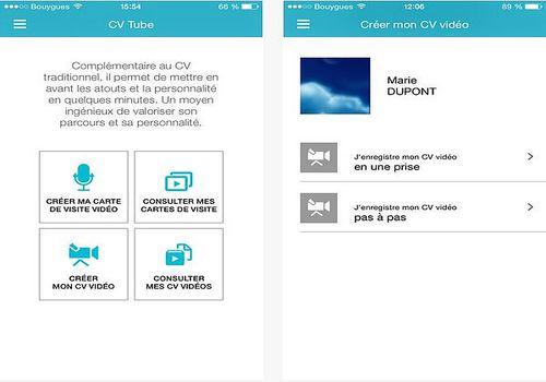 Télécharger Cv Tube Pôle Emploi Ios App Store