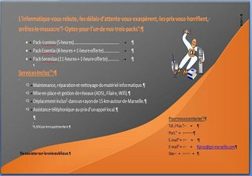 t u00e9l u00e9charger flyer word 2007 pour windows