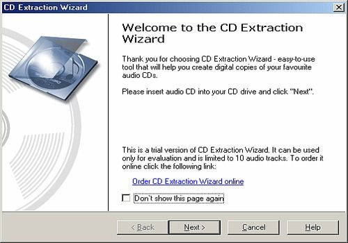 CD Extraction Wizard