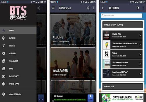 Download BTS Lyrics Android | Google Play