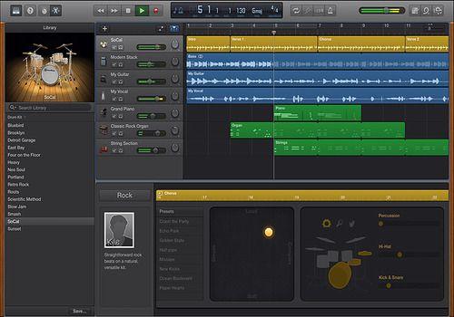 GarageBand pour Mac