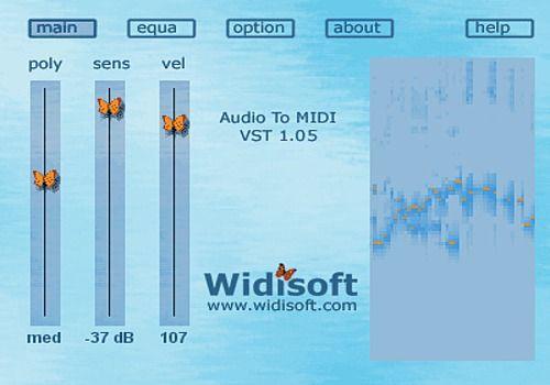Audio To MIDI VST (MAC) pour Mac