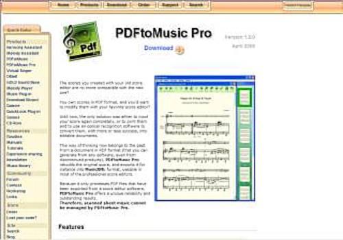 PDFtoMusic Pro pour Mac