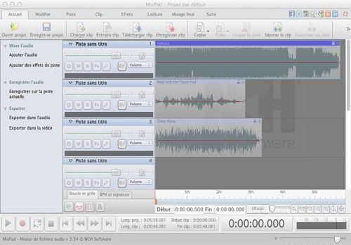 logiciel mixage musique mac gratuit