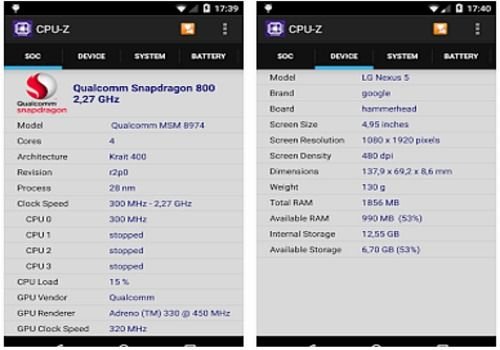 Download CPU-Z Android | Google Play