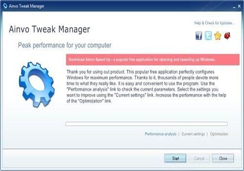 Ainvo Tweak Manager