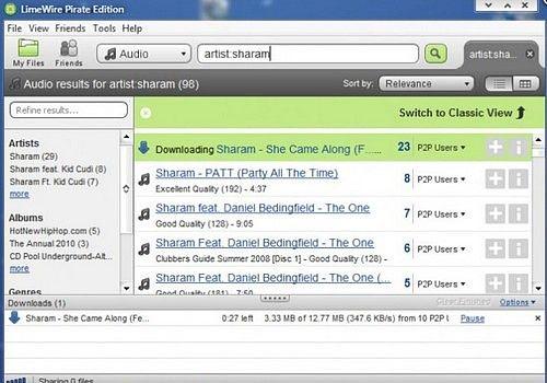 Download LimeWire Pirate Edition 5 6 2 for Windows