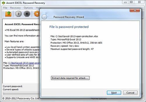 ms excel password recovery software free download