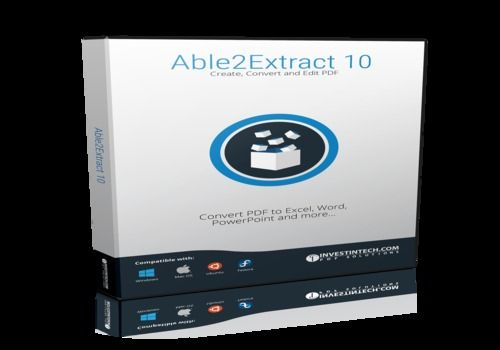 Download Able2Extract PDF Editor 10 v10 0 for Windows