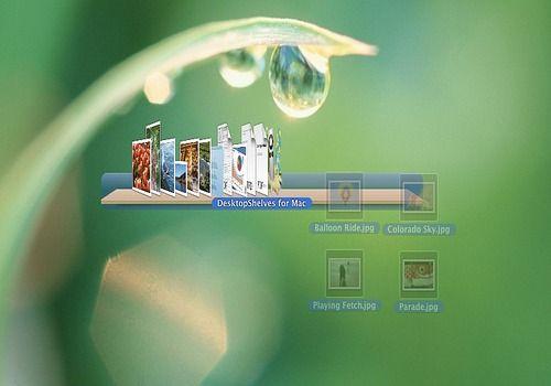 DesktopShelves pour Mac