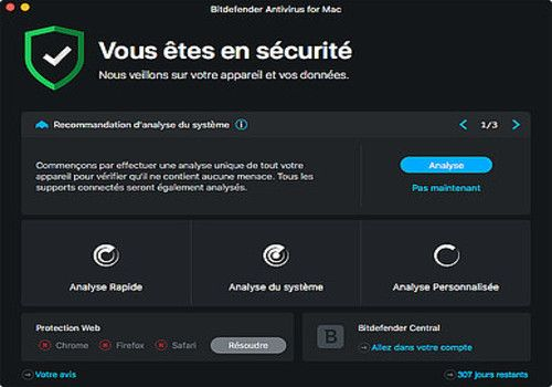 Download BitDefender Antivirus pour Mac | Shareware