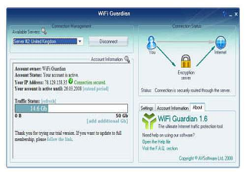 Download WiFi Guardian for Windows | Shareware