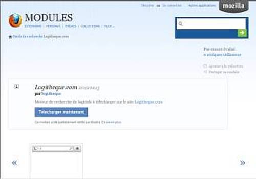 Logitheque pour FireFox