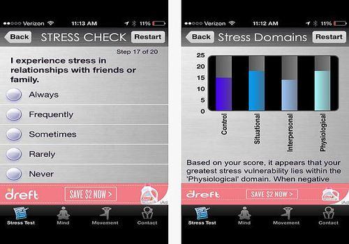 Stress Check iOS