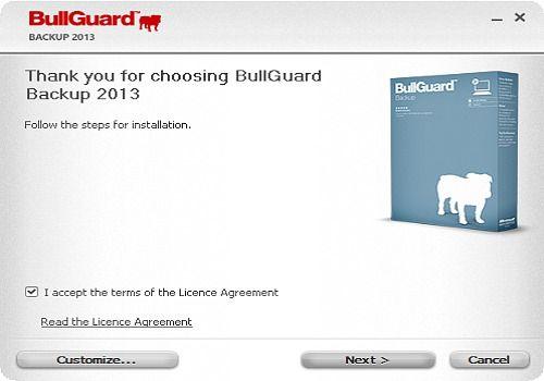 BullGuard Online Backup 2013