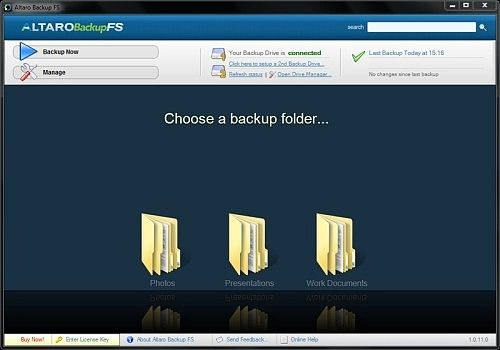 Altaro Backup FS