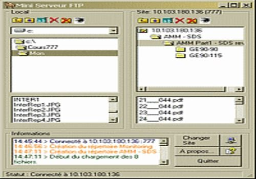 Mini serveur FTP