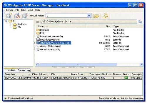 WinAgents TFTP Server