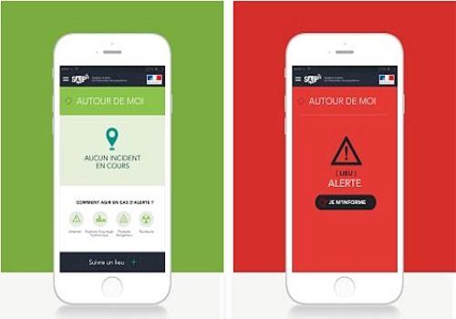 SAIP (Système d'alerte et d'information des populations) iOS